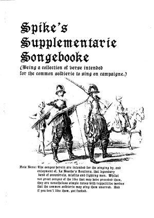 Spikes Supplementarie Songbooke 1991